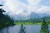 Озеро 1430 м и Кинзелюкский цирк