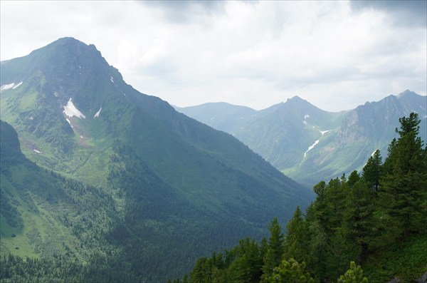 Вершина рядом с Киннзелюкским водопадом 2136,6