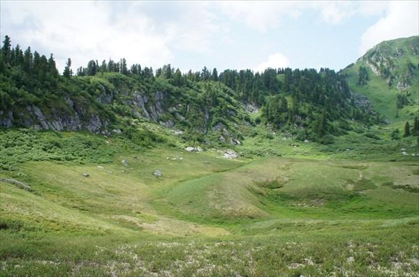 Перевал в долину р. Кинзелюк