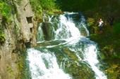 Водопад `Разбойник`.