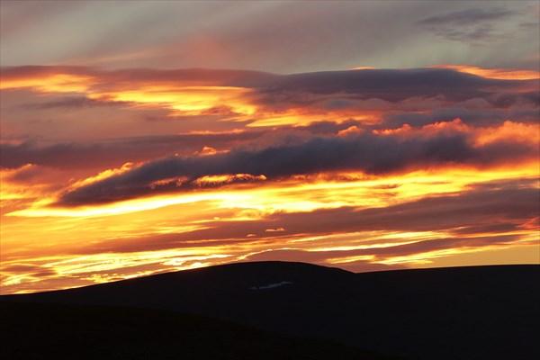 Закат с перевала