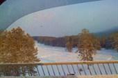 Речка, по которой катаются летом на лодках, а зимой на джипах