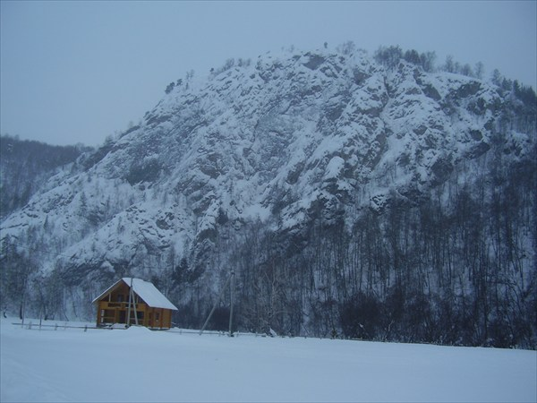 Ущелье со стороны деревни