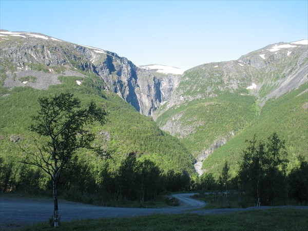 Вид из лагеря