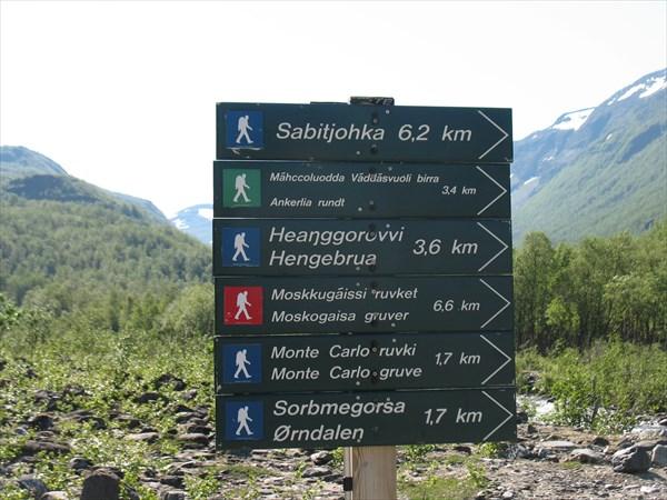 Предлагаемые маршруты