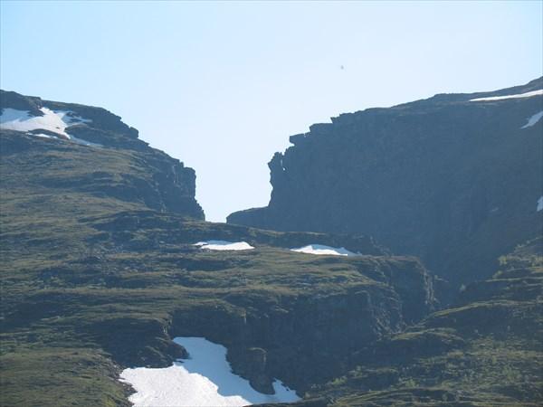 Горы над каньоном