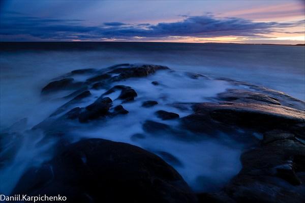 Вечер. Белое море.