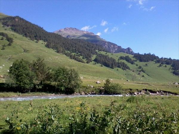 Вид на перевал Озерный