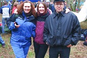 Катя с родителями