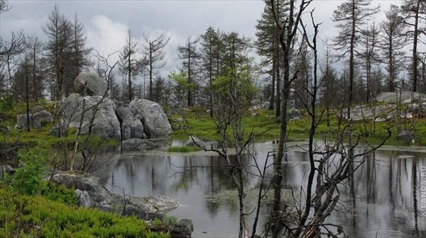 Карелия, гора Воттоваара