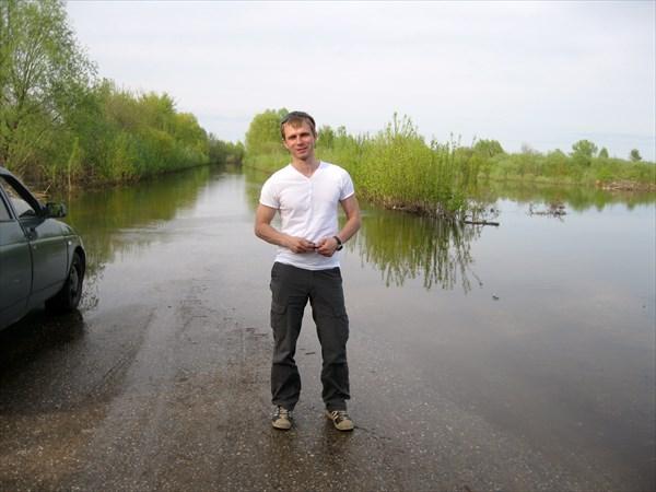 Разлив реки Клязьма в Вязниках