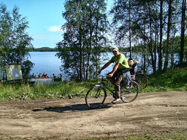 велопрогулка по Соловкам