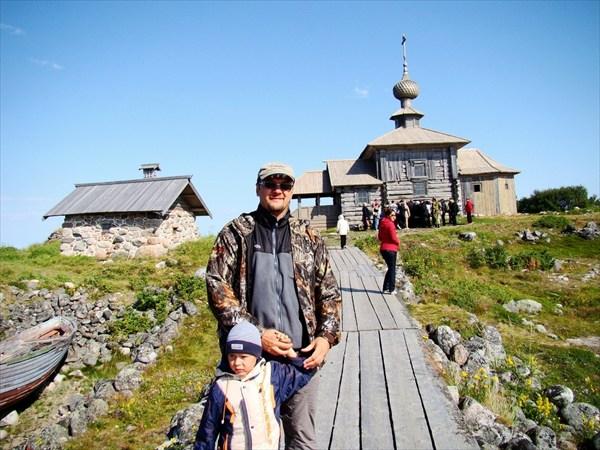 остров Заяцкий и церков Андрея Первозванного