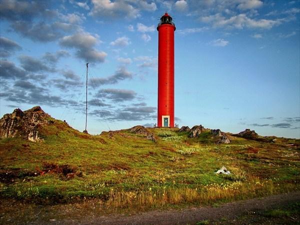 самый северо-западный маяк России