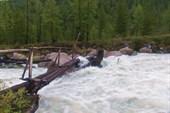 Мост через Аккем у турбазы Высотник