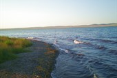 Закат на озере Шира