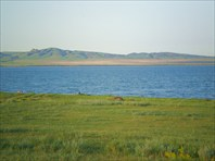 Вид на озеро Шира