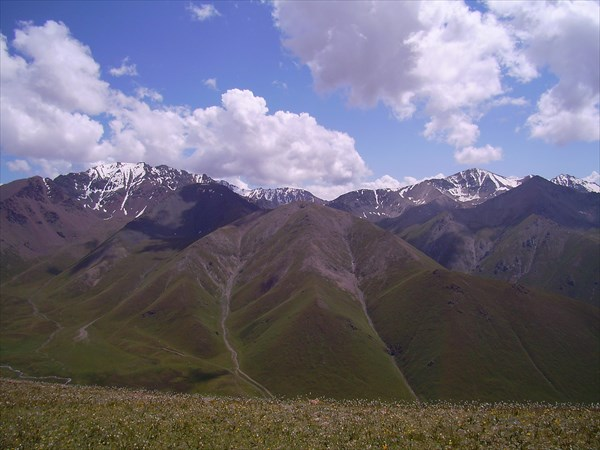 Вид с перевала Тыккия