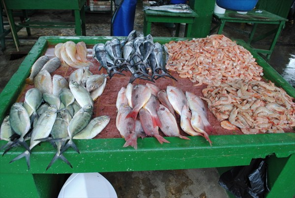 Атакамас рыбный рынок