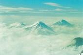 а внизу облака