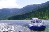 Абаза - Наш катер на речке