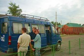 DSCN3898. Наш транспорт по Чуйскому тракту.
