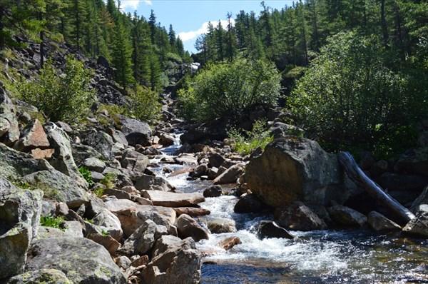 Река Подкомарная