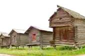Домики бабок-Ёжек