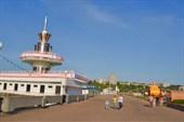 Лодочный причал на заливе у Старой (или Красной) площади