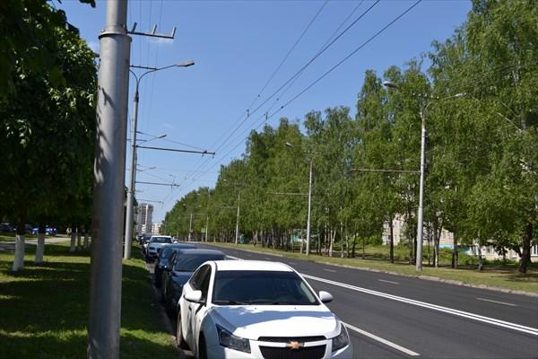 Чебоксары, Московский проспект