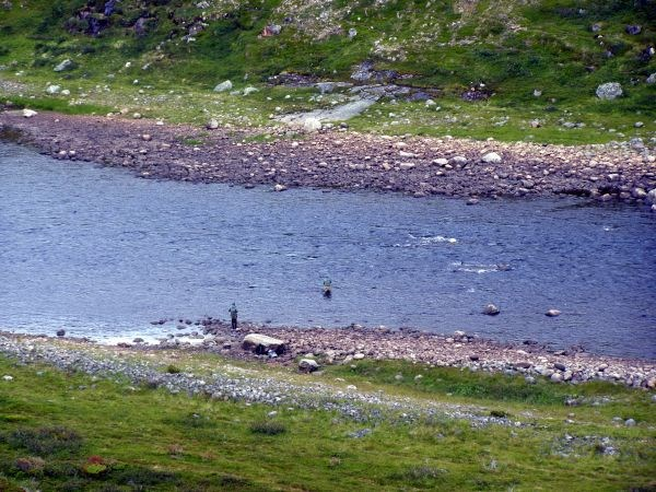 Рыбаки на Харловке