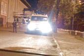 В ночной Казани эвакуируют дорогую тачку