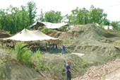 Раскопки останков динозавров