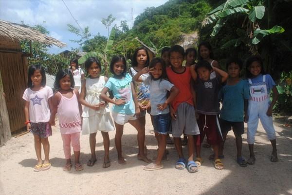 Филиппинские дети