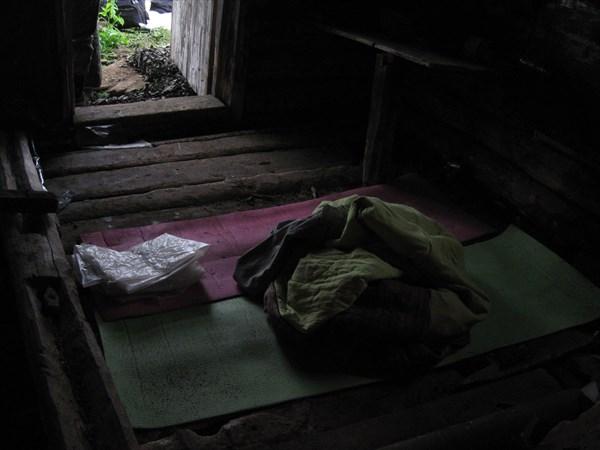 Ночёвка в заброшенной избе в Сухом Логу