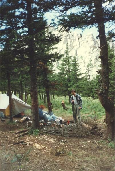 11. Лагерь у подножья Откликного