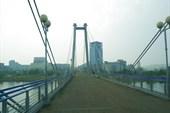 Красноярск, мост на остров
