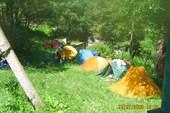 Базовый лагерь на территории а/л Шхельда
