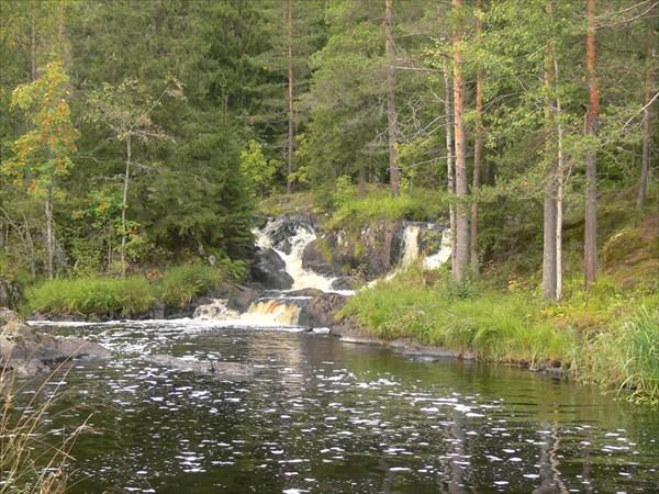 Водопады на р.Тохмайоки