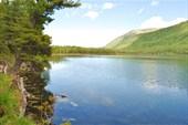 Вид с средней части Нижнего озера на северный берег