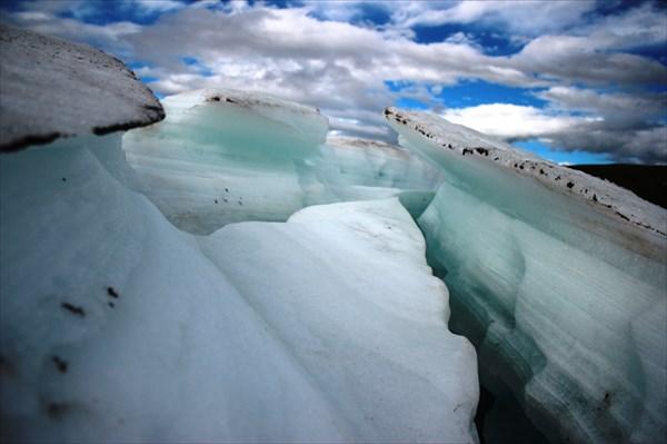 Бирюзовый ледник.