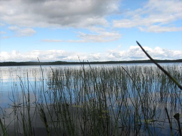 Сийские озёра - оз. Плоское