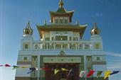 `Золотая обитель Будды Шакьямуни». Элиста.