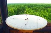 Керженец-2009. Вид с вышки на лесные просторы