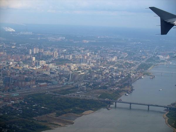 Город родной Новосибирск