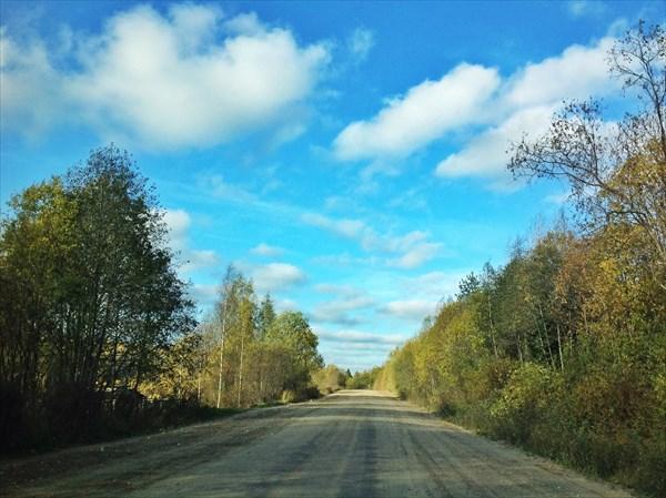 Дорога на Вознесенье
