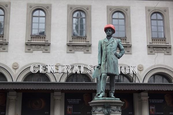 Вокруг Central Station идет ремонт...