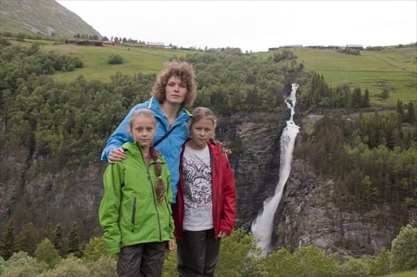 Водопад Svoufallet