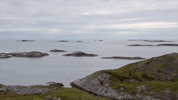 Атлантический, а может быть и Северный ледовитый..