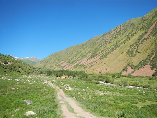 Дорога на пер. Кырк Кыз